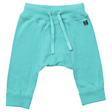 Buy Polarn O. Pyret Baby's Soft Trousers, Blue Online at johnlewis.com