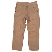 Buy Polarn O. Pyret Boy's Washed Denim Trousers Online at johnlewis.com