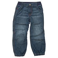 Buy Polarn O. Pyret Children's Loose Fit Jeans, Blue Online at johnlewis.com