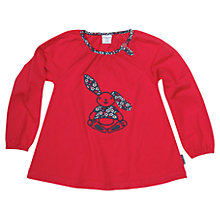 Buy Polarn O. Pyret Childrens' Playful Bunny Top Online at johnlewis.com
