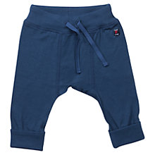 Buy Polarn O. Pyret Baby's Soft Trousers, Navy Online at johnlewis.com