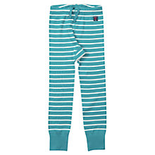 Buy Polarn O. Pyret Children's Stripe Leggings, Green Online at johnlewis.com