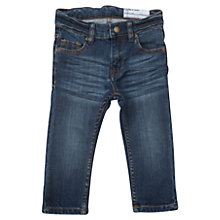 Buy Polarn O. Pyret Baby's Slim Fit Jeans, Blue Online at johnlewis.com