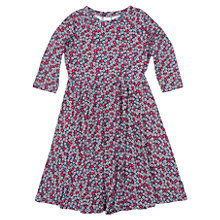 Buy Polarn O. Pyret Girls' Flower and Spot Dress Online at johnlewis.com