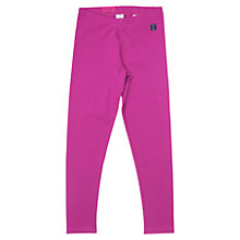 Buy Polarn O. Pyret Children's Purple Leggings, Purple Online at johnlewis.com