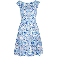 Buy Closet Strawberry Print V-Back Dress, Lilac Online at johnlewis.com