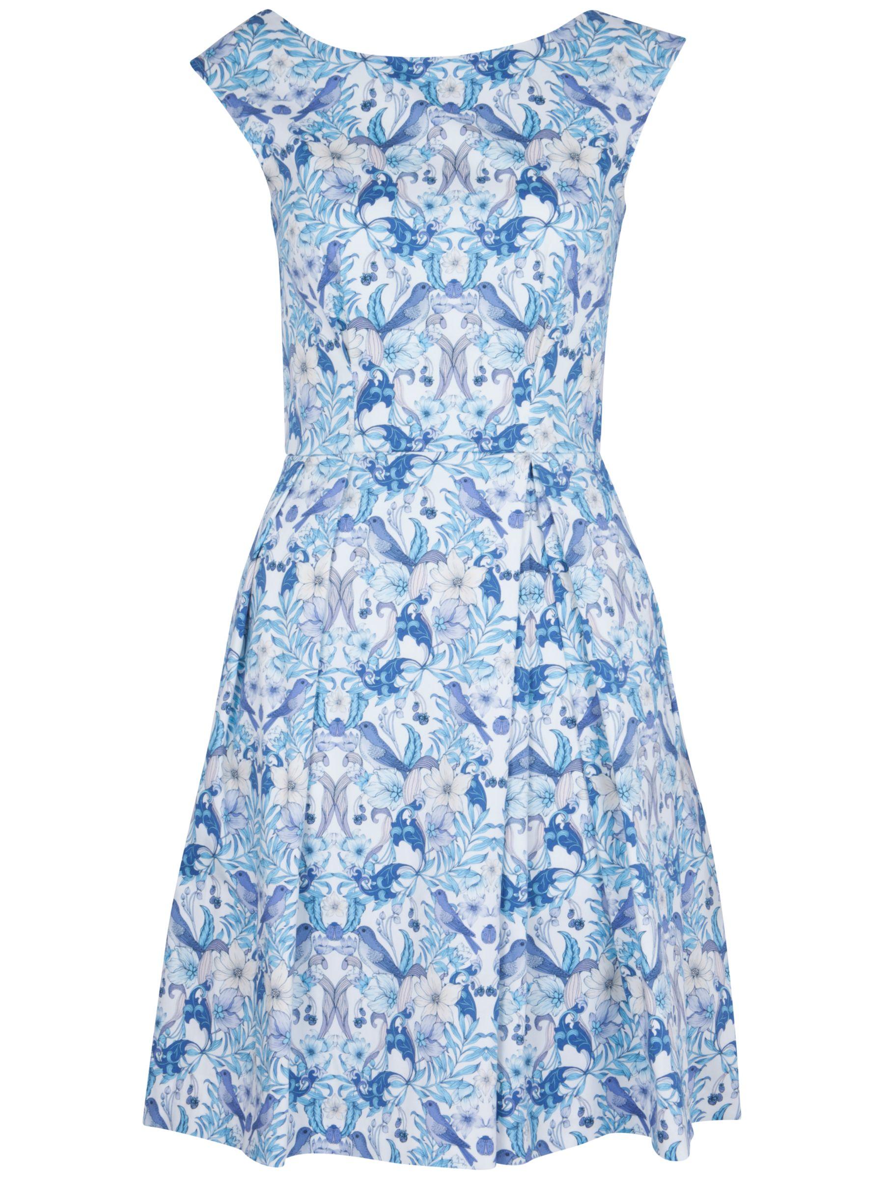 closet strawberry print v-back dress lilac, closet, strawberry, print, v-back, dress, lilac, 14 12 16 10 8, women, womens dresses, 1559181