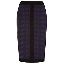 Buy Planet Navy and Black Jacquard Skirt, Multi Dark Online at johnlewis.com