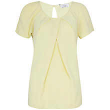 Buy Closet Pleat Top, Pastel Yellow Online at johnlewis.com