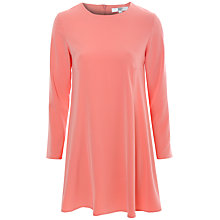 Buy True Decadence Long Sleeve Swing Dress, Coral Online at johnlewis.com