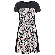 Buy Sugarhill Boutique Lottie Skater Dress, Black/Peach Online at johnlewis.com
