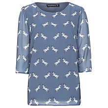 Buy Sugarhill Boutique Unicorn Top, Dusky Blue Online at johnlewis.com