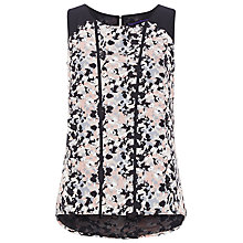 Buy Sugarhill Boutique Lottie Top, Black/Peach Online at johnlewis.com