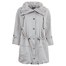 Buy Mint Velvet Short Parka Jacket, Stone Online at johnlewis.com