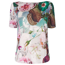 Buy Phase Eight Bobbi Botanical Top, Multi Online at johnlewis.com