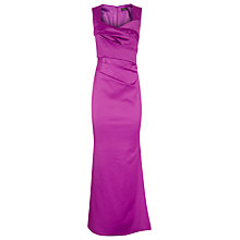 Buy Alexon Sexy Sateen Maxi Dress, Violet Online at johnlewis.com
