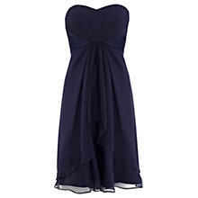 Buy Coast Petite Michegan Short Dress, Navy Online at johnlewis.com