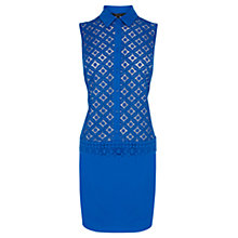 Buy Coast Blair Dress, Cobalt Blue Online at johnlewis.com