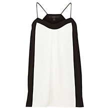Buy Coast Vadella Cami Top, White/Black Online at johnlewis.com