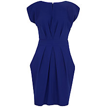 Buy Closet Split Neck Tie Back Dress, Blue Online at johnlewis.com