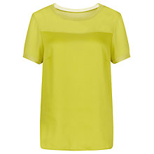 Buy Planet Shell Top, Chartreuse Online at johnlewis.com