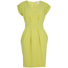 Buy Closet V-Neck Tie Dress, Lime Online at johnlewis.com