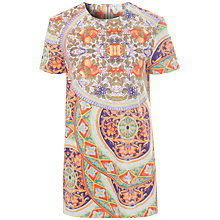Buy True Decadence Printed Shift Dress, Orange Print Online at johnlewis.com
