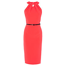 Buy Coast Lupita Dress, Coral Online at johnlewis.com