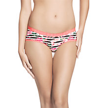 Buy Bonds Microfibre Boyleg Briefs, Stripe Rosette Online at johnlewis.com
