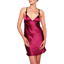 Buy Chantelle Palazzo Chemise, Black / Cherry Online at johnlewis.com