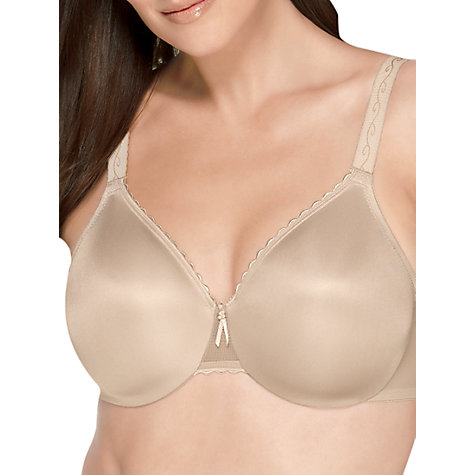 Buy Wacoal Simple Shaping Minimiser Bra, Nude Online at johnlewis.com