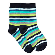 Buy Donna Wilson for John Lewis Stripe Socks, Green Online at johnlewis.com