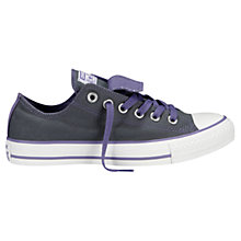 Buy Converse Chuck Taylor All Star Ox Double Tongue Trainers Online at johnlewis.com