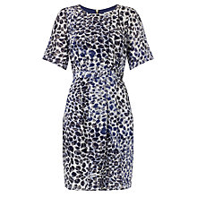 Buy COLLECTION by John Lewis Animal Print Silk Dress, Multi Online at johnlewis.com