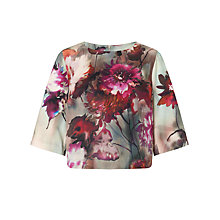 Buy COLLECTION by John Lewis Floral Shell Top, Pink Online at johnlewis.com