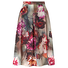 Buy COLLECTION by John Lewis Floral Skirt, Pink Online at johnlewis.com