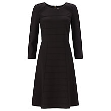 Buy COLLECTION by John Lewis Ripple Stitch Dress, Black Online at johnlewis.com