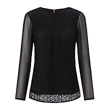 Buy COLLECTION by John Lewis Lace Front Blouse Online at johnlewis.com