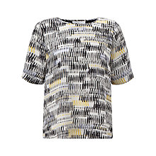 Buy COLLECTION by John Lewis Barcode Print Top, Multi Online at johnlewis.com