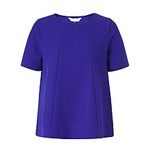 Buy COLLECTION by John Lewis Textured Jersey Top, Viola Online at johnlewis.com