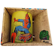 Buy Marvel Kids Spiderman Mug, Multi Online at johnlewis.com