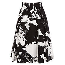 Buy Coast Cannizaro Skirt, Black/White Online at johnlewis.com