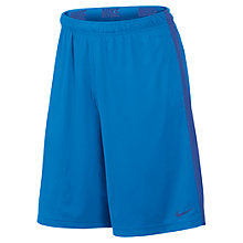 Buy Nike Fly 2.0 Training Shorts, Blue Online at johnlewis.com