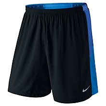 "Buy Nike Pursuit 7"" 2-in-1 Running Shorts Online at johnlewis.com"