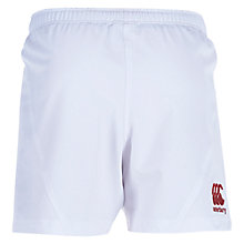 Buy Canterbury of New Zealand Boys' England Rugby Shorts, White Online at johnlewis.com