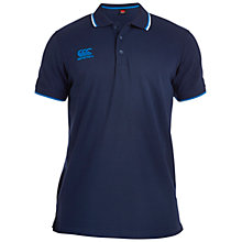Buy Canterbury of New Zealand Tipped Polo Shirt, Navy Online at johnlewis.com