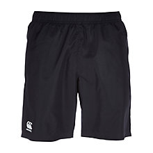 Buy Canterbury of New Zealand Essentials Long Knit Shorts, Black Online at johnlewis.com