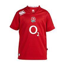 Buy Canterbury of New Zealand Boys' England Away Rugby Shirt Online at johnlewis.com