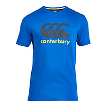 Buy Canterbury of New Zealand Classic CCC Logo T-Shirt, Victoria Blue Online at johnlewis.com