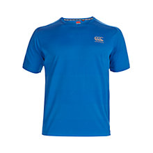 Buy Canterbury of New Zealand Essentials Graphic Poly T-Shirt, Victoria Blue Online at johnlewis.com
